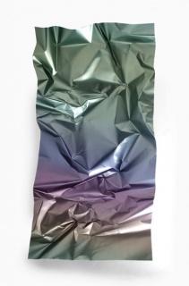 Inma Femenía, Graded Metal 22. Impresión digital sobre zinc 190 x 98 x 18. Colección particular
