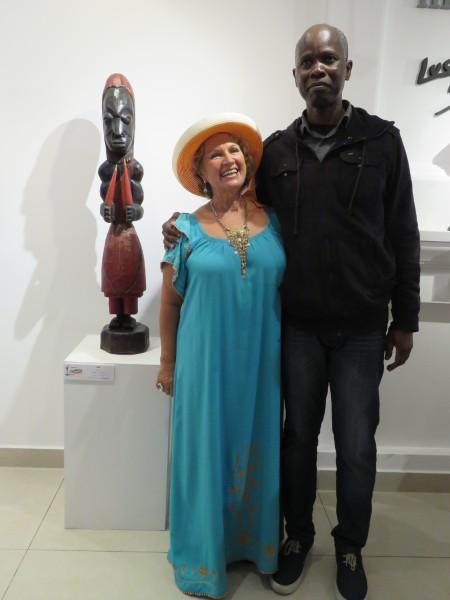 Boubacar Traore y Lucy Mattos