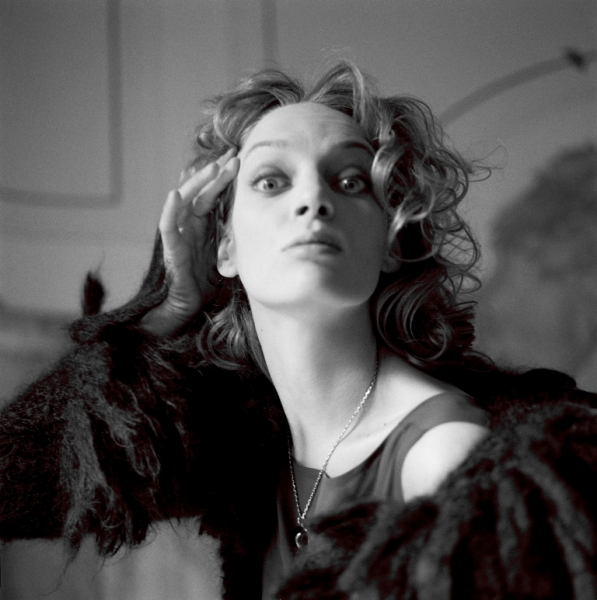 Uma Thurman, Vogue Italia, 1996. Michel Comte, Portraits. diChroma photography...
