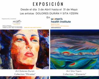 """Exposicion """"Miradas """" y  """"Elementos"""""""