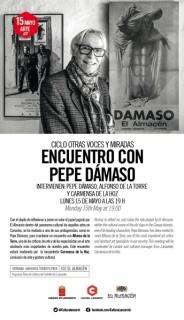 Ciclo otras voces y miradas: Encuentro con Pepe Dámaso