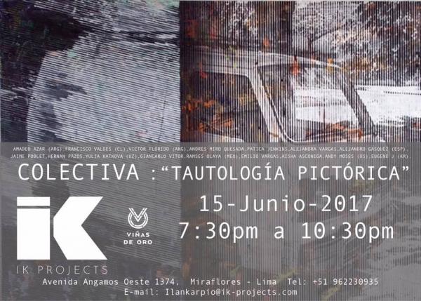 TAUTOLOGÍA PICTÓRICA
