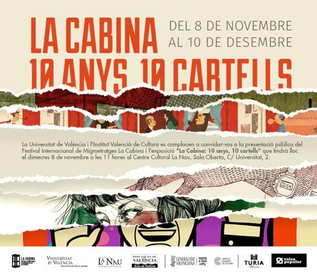 La Cabina. 10 anys, 10 cartells