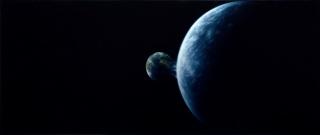 Kepa Garraza. Melancholia (Lars von Trier, 2011). Óleo sobre lienzo. 83,5 × 200 cm. 2017 – Cortesía de la Galería T20