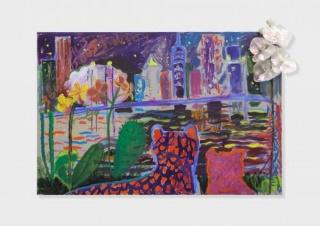 Emily Sundblad, To be titled, 2017, Oil on canvas, 61 x 91.4 cm. Courtesy of the artist & Gaga Fine Arts // Travesía Cuatro