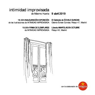 Máximo Huerta. Intimidad improvisada