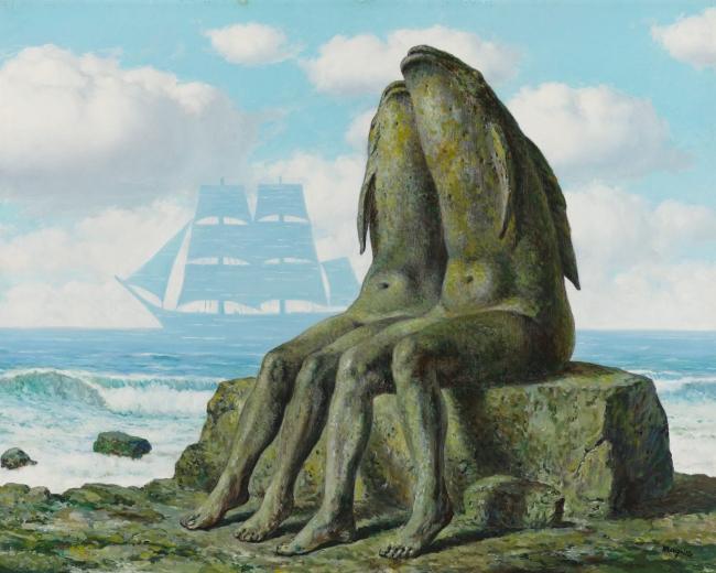 René Magritte, 'Les merveilles de la nature (The Wonders of Nature)', 1953, MCA Chicago