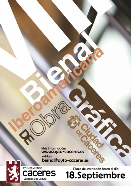 VIII Bienal Iberoamericana de Obra Gráfica Ciudad de Cáceres