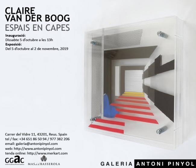 Claire van der Boog: Espais en Capes