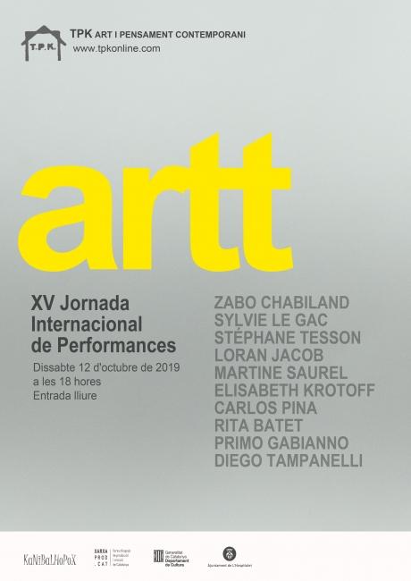 artt. XV Jornada Internacional de Performances