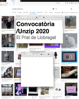 Convocatòria /Unzip 2020