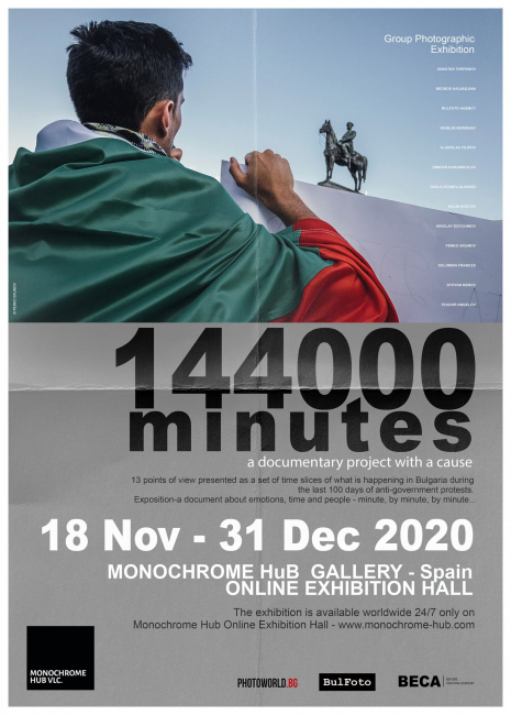 Poster 144000 Minutes Exhibition