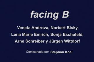 facing B
