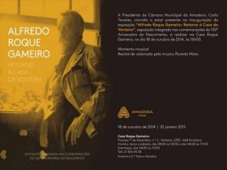 Alfredo Roque Gameiro: Retorno à Casa da Venteira
