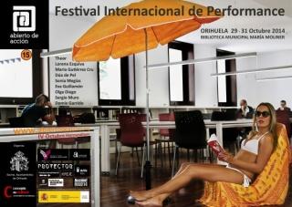 Abierto de acción. Festival Internacional de Performance