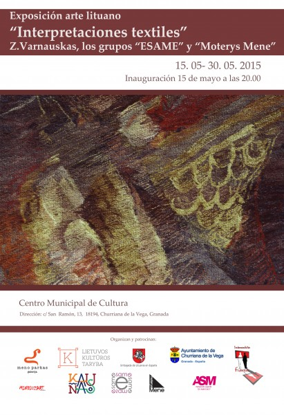 Interpretaciónes Textiles en Churriana de la Vega