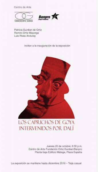 Los Caprichos de Goya intervenidos por Dalí