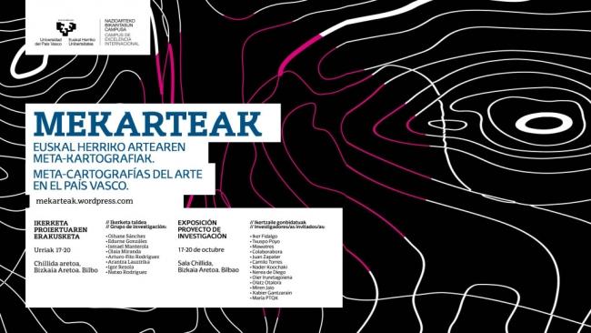 Mekarteak: Meta-cartografías del arte en el País Vasco 2007/2015