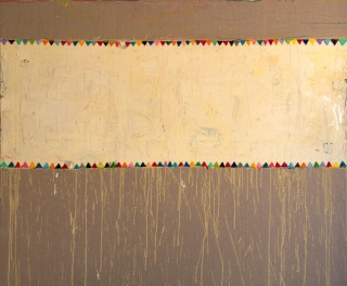 DO. Òleo sobre lienzo. 162 x 195 cm. 2017.