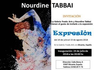 Expresión de Nourdine Tabbai