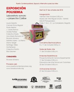 Polisemia. Imagen cortesía Banco de la República Colombia
