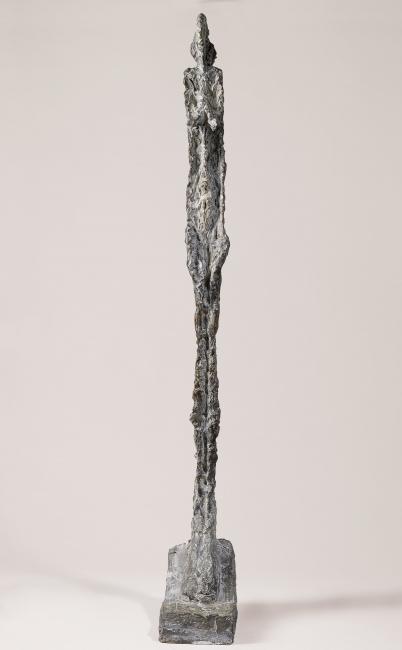Mujer de Venecia VI, 1956?* Alberto Giacometti Bronce Saint-Paul-de-Vence, Fondation Marguerite et Aimé Maeght © Alberto Giacometti Estate / VEGAP, Madrid, 2019