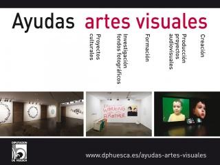 Ayudas a las Artes Visuales: Beca Antonio Saura - Ayuda a la Creación Ramón Acín 2019