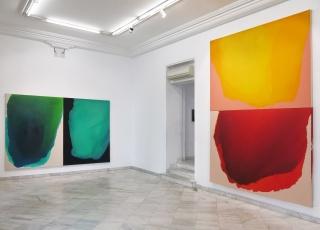 Vista de la exposición de Rubén Rodrigo: La luz y la furia — Cortesía de la Galería Fernando Pradilla