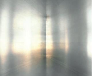 Luisa Lambri. Untitled (100 Untitled Works in Mill Aluminum, 1982-86, #02), 2012 Laserchrome print, 94 x 79 cm — Cortesía de Arte Madrid