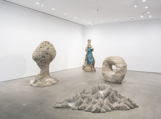 Installation View, Damián Ortega:Porous Structures, Courtesy of Gladstone Gallery, New York, 2019
