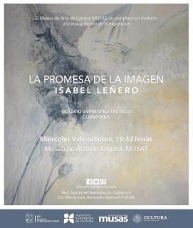 Isabel Leñero. La promesa de la imagen - Invitación
