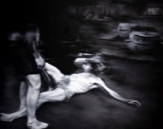 Josep Tornero. Camino a Damasco o La conversión de Saulo. Óleo sobre lienzo. 150x195 cm. — Cortesía de La Gran