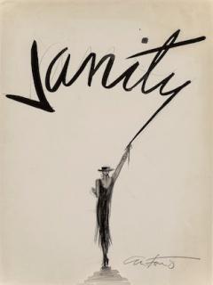 Antonio Lopez, Vanity (cover study), model unknown, 1982  © The Estate of Antonio Lopez and Juan Ramos — Cortesía de diChroma photography