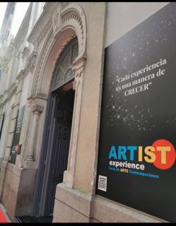 Feria Artist Experience. Fachada de la Feria. Próxima edición Primavera. 26-30 de mayo 2021.