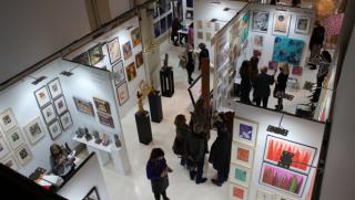 Vista feria de la Feria ARTIST Experience de Diciembre 2020