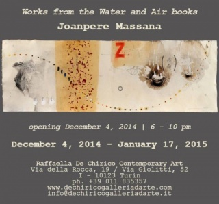 Joanpere Massana, Works from the Water and the Air books