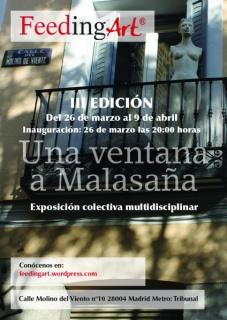 Cartel de la III Edición Una ventana a Malasaña