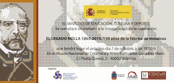 El legado Nolla 1865-2015. 150 años de la fábrica de mosaicos
