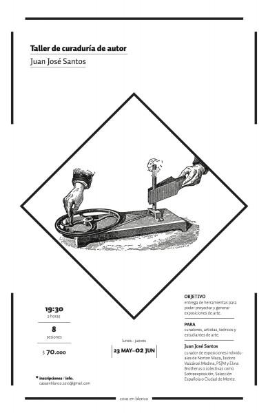 Taller de Curaduría por Juan José Santos
