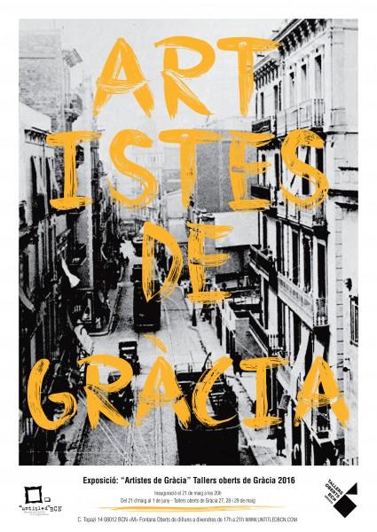 Artistes de Gràcia. Tallers oberts de Gràcia 2016