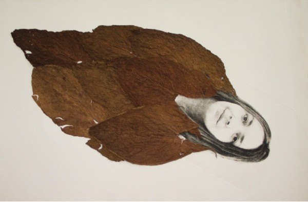Sandra Ramos, Hoja de tabaco (tabaco leaves), 2008