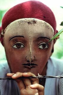 Susan Meiselas, Traditional Indian dance mask Nicaragua