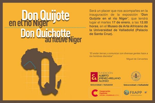 Don Quijote en el río Níger