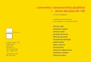 CONCRETOS / NEOCONCRETOS PAULISTAS. Imagen cortesía José Macaparana