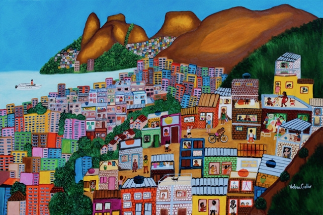 Helena Coelho - Favelas Pavao e Pavaozinha Copacabana-Rio