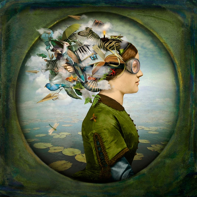 © Maggie Taylor. The burden of dreams, 2013 – Cortesía de Blanca Berlín Galería