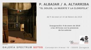 Pilar Albajar & Antonio Altarriba. El dolor, la muerte y la clorofila