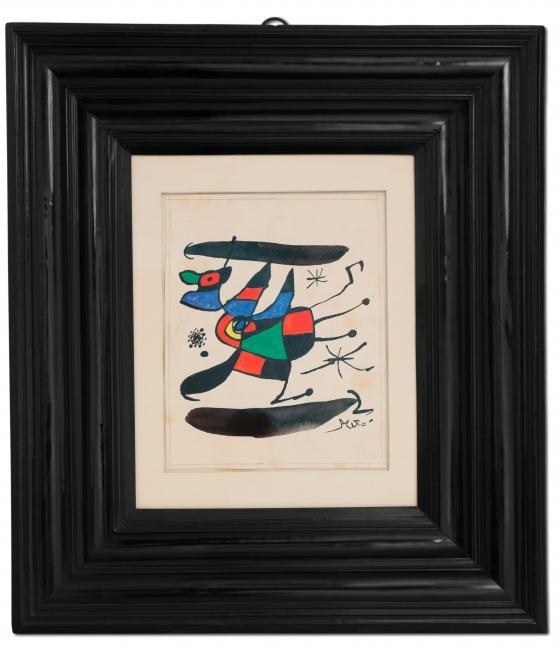 Homenatge a Victoria dels Àngels – Joan Miró, 1974