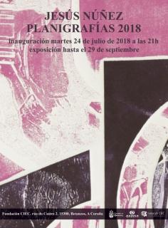 Jesús Núñez. Planigrafías 2018