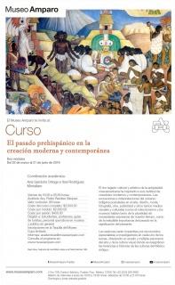 El pasado prehispánico en la creación moderna y contemporánea